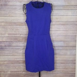 Madewell 10 sleeveless dress with pockets